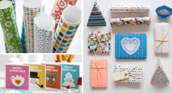 Geschenkpapier Papeterie