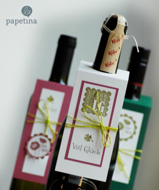 la papetina Weinetiketten selbstgemacht Papeterie