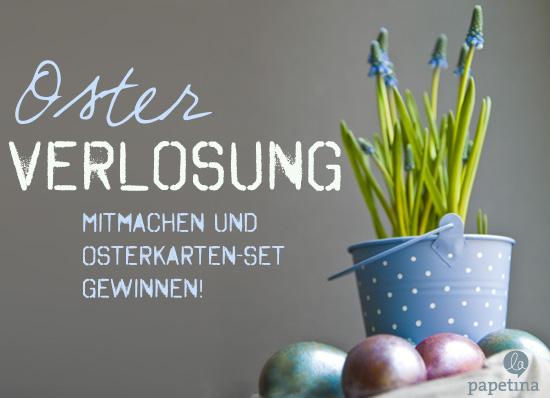Mitmachen und Osterkarten-Set gewinnen!