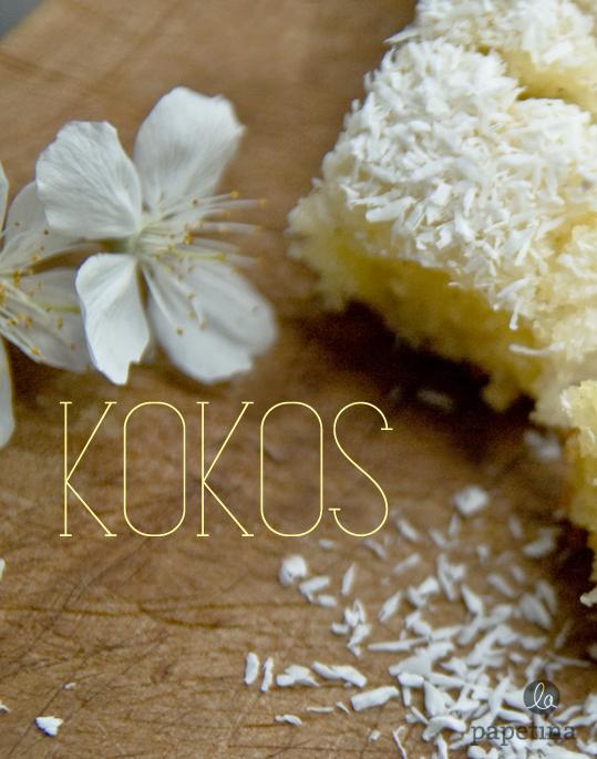 Kokos-Zitronen-Kuchen