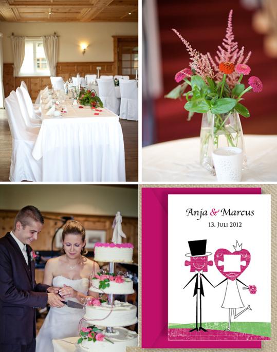 Hochzeitseinladung von la papetina - Design Puzzle