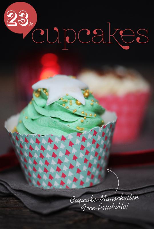 Cupcake Manschette