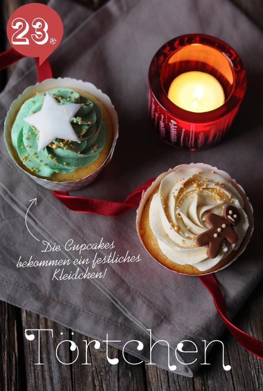 Cupcake Manschetten